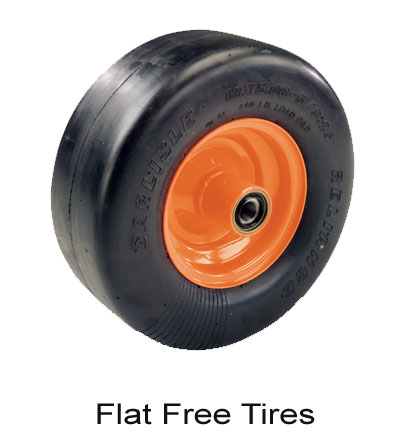 Scag Flat Free Caster Tires Purchases Of 50$ Or More Receive Free Shipping.